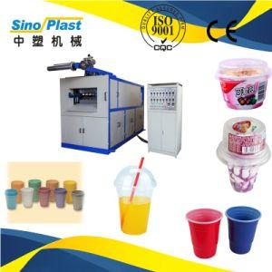 Servo Stretching Servo Feeding Hydraulic Cup Thermoforming Machine