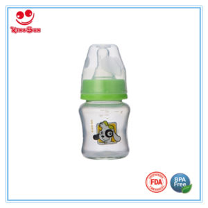 Mini Standard Neck Best Glass Baby Bottles for Feeding Baby pictures & photos