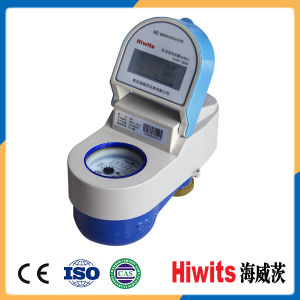 Low Price Brass Smart 15-20-25mm Digital Prepaid Water Meter with IC Card pictures & photos