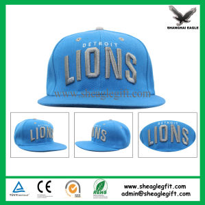 Custom Flat Brim 5 Panel Snapback Cap pictures & photos