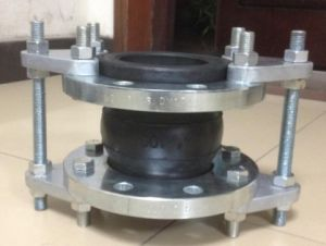 Two Sphere Rubber Expansion Joint EPDM Bellow ASA 150lbs Flanges End pictures & photos