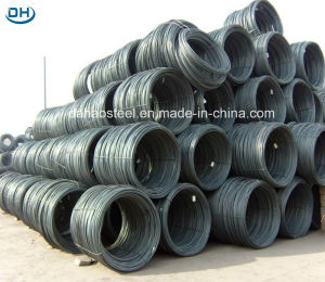Jiujiang SAE1008 Hot Rolled Low Carbon Steel Wire Rod Price pictures & photos