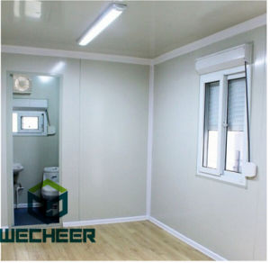 EPS Sandwich Panel Heat Insulation Container House Home with Air Conditioner pictures & photos