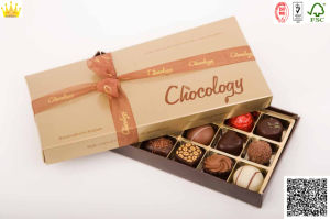 Chocolate Boxes with Clear Tray (MX-109) pictures & photos