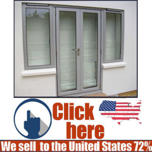 High Grade Aluminum Profile French Door pictures & photos