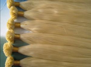 Cold Fusion European Remy Flat Tip Human Hair pictures & photos