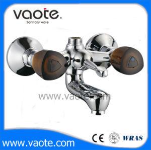 Double Handle Brass Body Bath Faucet/Mixer (VT60601) pictures & photos