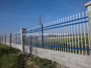 Galvanized Steel Garden Fence/ Cheap Garrison Fence pictures & photos