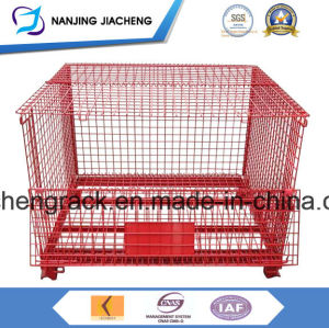 Industry Foldable Galvernized Storage Metal Wire Stillage with High Quality pictures & photos