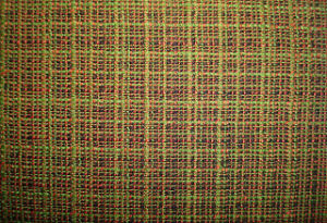 Stretch Wool Blenched Interweave Colourful Check Fabric pictures & photos