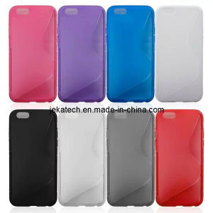 S Line TPU Case for iPhone 6 pictures & photos