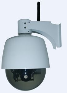 Outdoor Use Mini Speed Dome Wireless IP Camera (JS-J901-Z-WS) pictures & photos