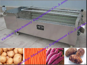Vegetable Potato Carrot Onion Fish Scale Washing Peeling Machine pictures & photos