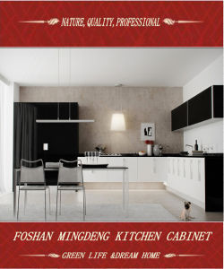 E1 Grade MDF Kitchen Cabinet (ZS-110) pictures & photos