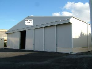 High Quality Prefab Steel Airplane Hangars pictures & photos