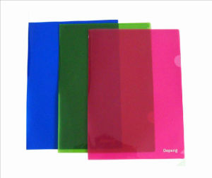 A4/FC Assorted Color L Shaped Folder (F-A014) pictures & photos