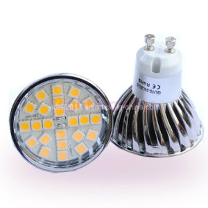 New Dimmable GU10 24 5050 SMD LED Bulb Lampen Light pictures & photos