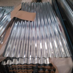 Dx51d 762mm Roofing Sheet Corrugated Galvanized Steel Plate pictures & photos