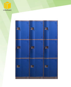 3 Door ABS Plastic Locker for Gym/Fitness Center/School /Club pictures & photos
