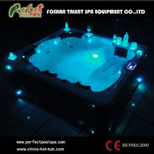 china hot tubs massage whirlpool outdoor jacuzzi spas with led light