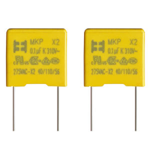 Yellow Box Type Metallized Polypropylene Film Capacitor pictures & photos
