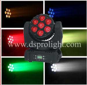 7PCS*12W RGBW 4in1 Osram LED Beam Stage Moving Head