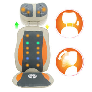 Neck and Back Kneading Vibration Butt Massage Cushion Chair pictures & photos