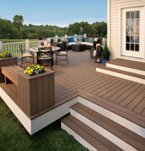 High Quality WPC Outdoor Decking Flooring