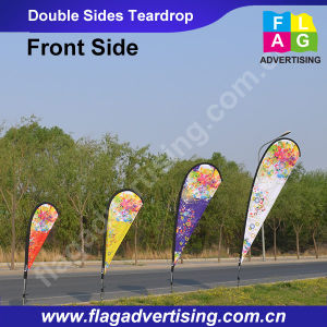 1.75m Single Sided Teardrop Flag pictures & photos