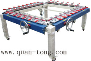 Manufacturer High Precision Mechanical Screen Tension Machine