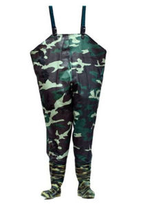 Camouflage PVC Chest Wader pictures & photos