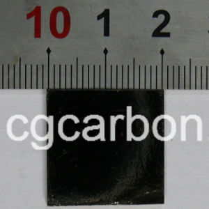 Highly Oriented Pyrolytic Graphite (20mm X 20mm X 1mm)