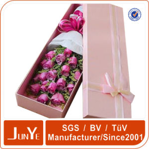 Custom Size and Logo Flower Cardboard Gift Boxes Design