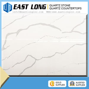 Calacatta Quartz Hot Sale Quality Artificial Quartz Stone Slab pictures & photos