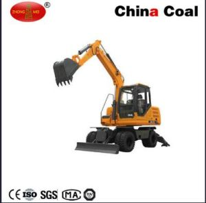 Construction Machine Heavy Equipment Wheeled Excavator for Sale pictures & photos