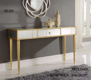 2017 New Living Room Glass Mirrored Console Table pictures & photos