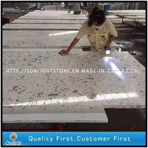 Polished White Colors Artificial Quartz for Slabs and Tiles pictures & photos