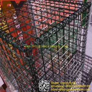 PVC Coated Welded Gabion Basket Box pictures & photos
