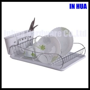 New Desgin Dish Rack with Pve Coating