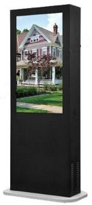 Kiosk Stainless Steel Touch Screen 55′′ pictures & photos
