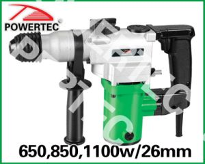 650/850/1100W 26mm Rotary Hammer (PT82509) pictures & photos