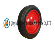 10 Inch Solid Rubber Wheel for Mobility Equipments pictures & photos