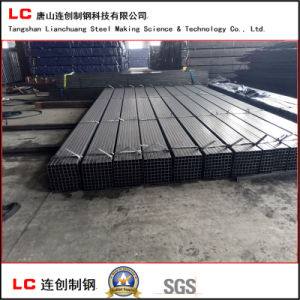 Oiled Black Square Steel Pipe with Waterproof Fabric pictures & photos