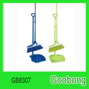 Cleaning Tool Plastic Broom Dustpan pictures & photos