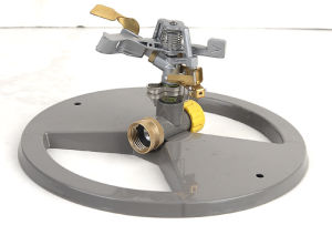 Zinc Impulse Sprinkler with Metal Sled Base (GU527) pictures & photos