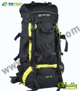 Professional 70L Black Mountain Bag