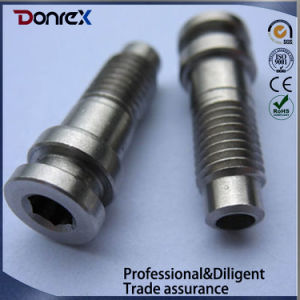 CNC Machining Shaft with Thread Made in China pictures & photos