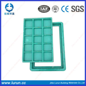 FRP BMC Temporary Composite Manhole Cover with Frame pictures & photos