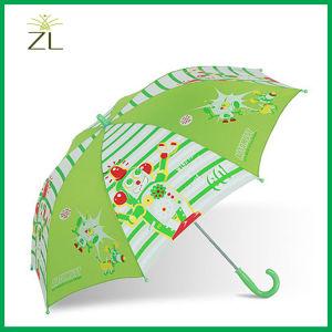 Promotional Kids Straight Transparent Umbrella pictures & photos