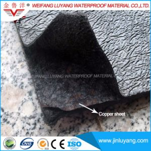 Root Resistance Bitumen Waterproof Membrane with Copper Sheet for Roof Garden